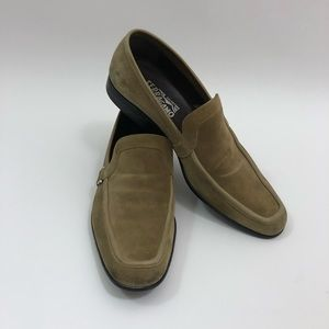 Salvatore Ferragamo Brown Suede Loafer Men 9.5